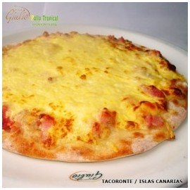 Pizza Carbonara (Familiar)