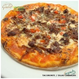 Pizza Carne mechada (Familiar)