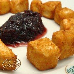 Queso camembert frito