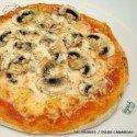 Pizza Champinones (Familiar)