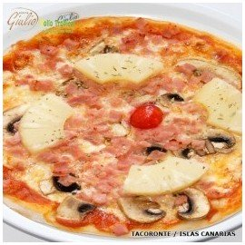 Pizza Hawai (Familie-size Pizza)